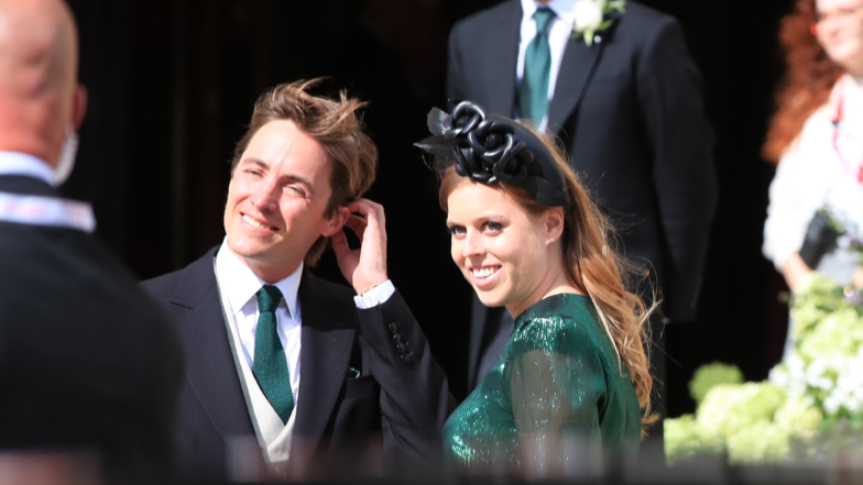 Princess Eugenie, Beatrice, Katy Perry And More Celebs Attend Ellie Goulding's Wedding To Caspar Jopling