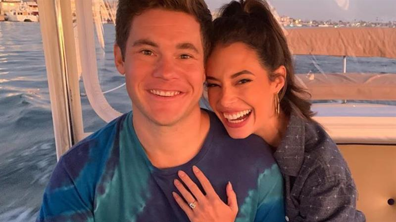 Adam Devine And Chloe Bridges Are Engaged: 'Let's Do This Baby'