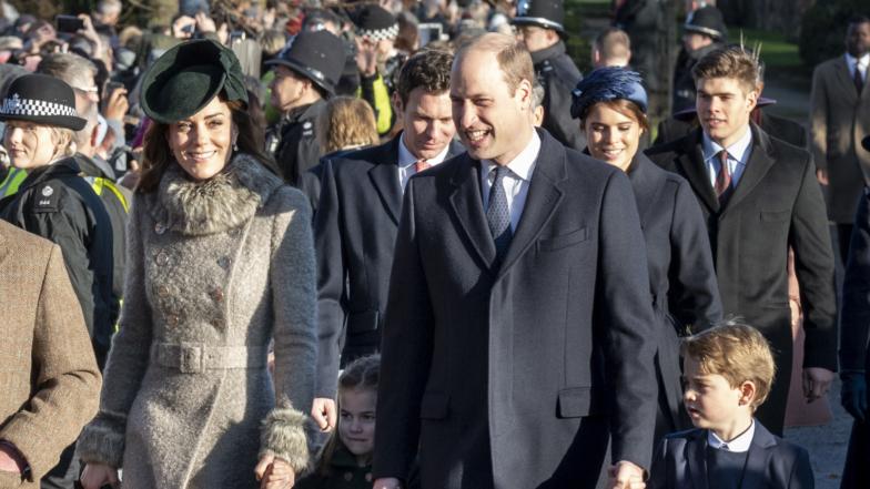 Prince George & Princess Charlotte's Christmas Debut: All The Photos Of The Their Big Moment