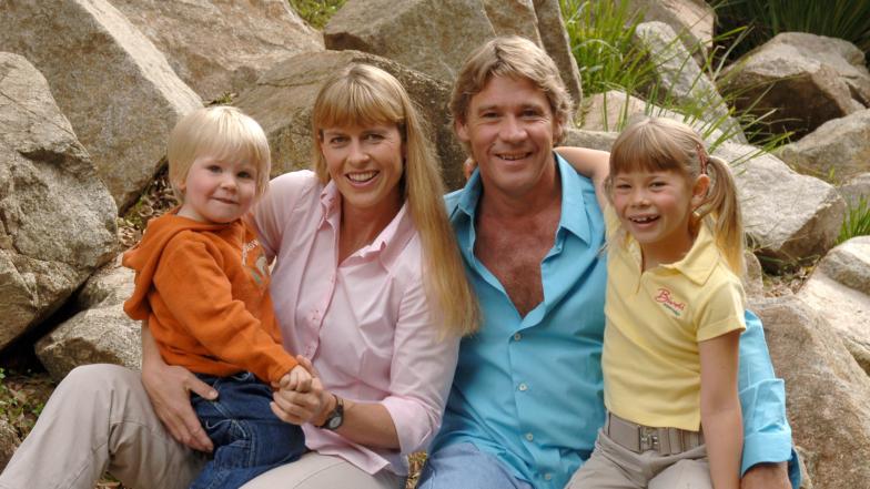Bindi, Robert, Terri and Steve Irwin Family Photos