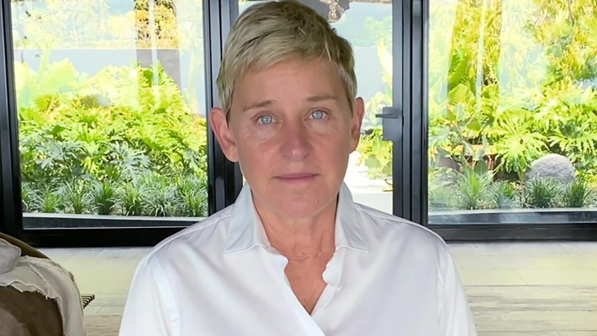 Ellen DeGeneres Announces She Tested Positive for the Coronavirus