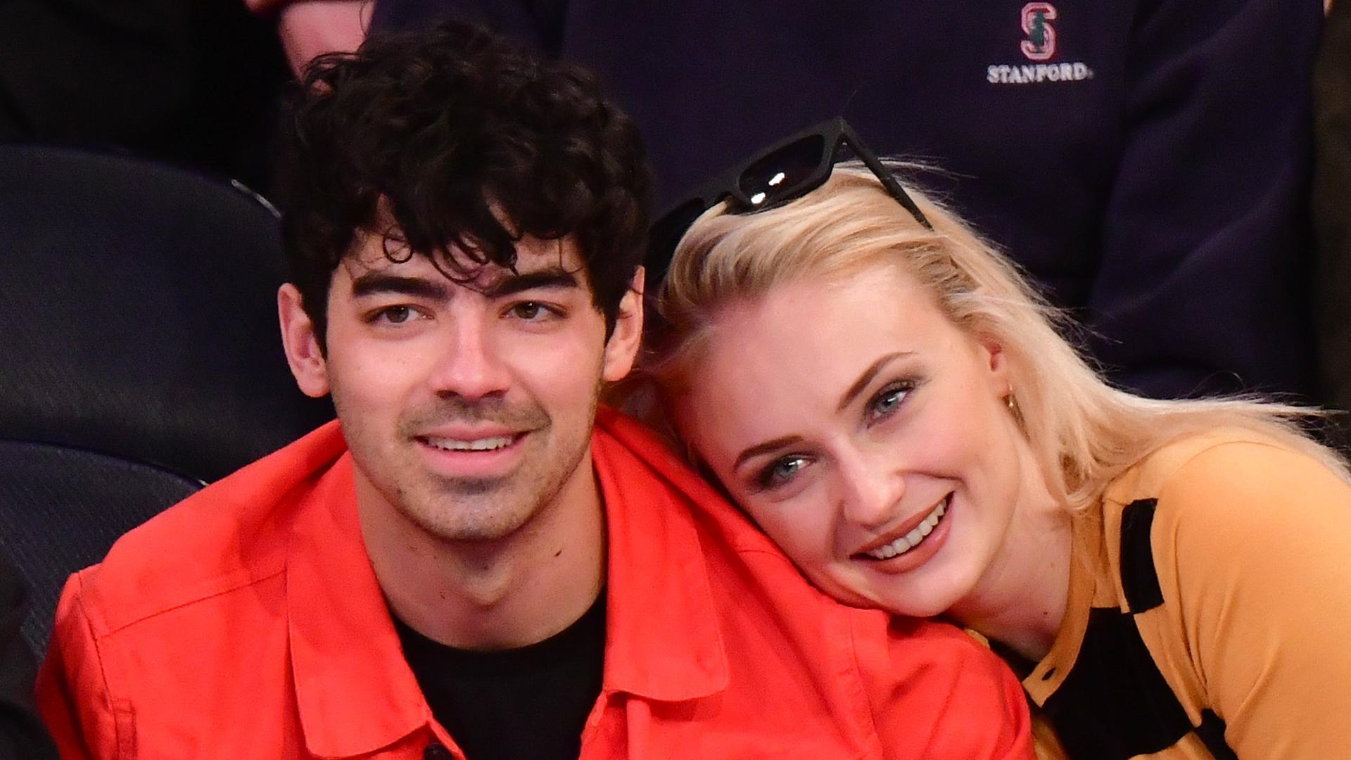 Joe Jonas & Sophie Turner Show Off Relatable Home Life In Rare TikTok Video