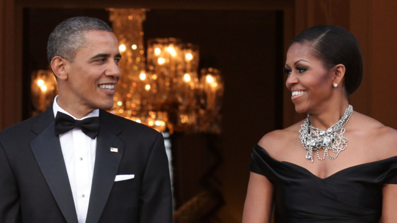 Barack & Michelle Obama's Sweetest Moments Through The Years