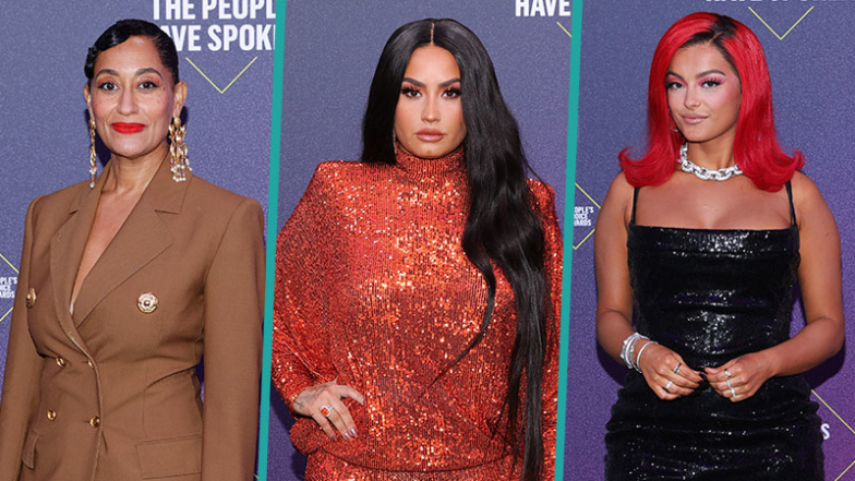 2020 People's Choice Awards Red Carpet: Demi Lovato, Tracee Ellis Ross And More Celebs Sizzle!