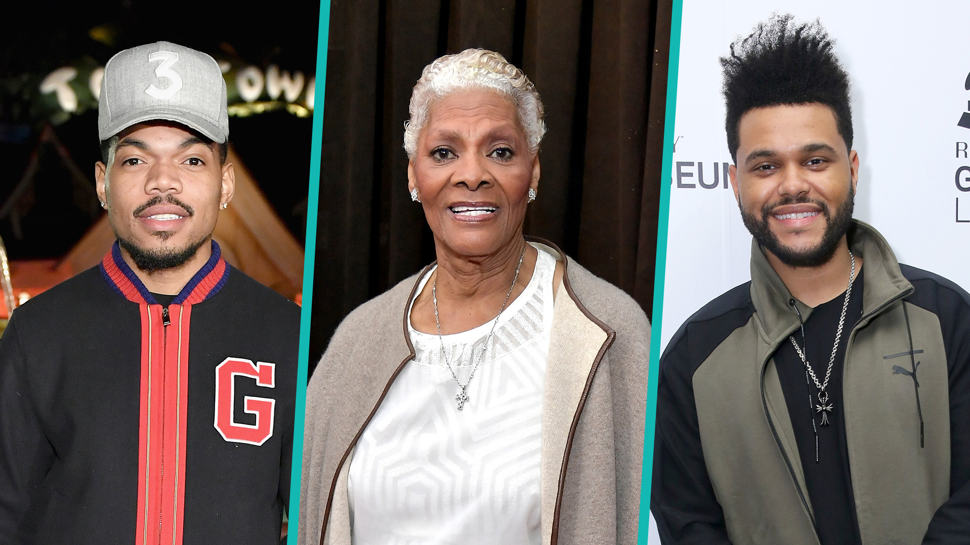 Dionne Warwick asks Chance The Rapper to explain his stage name