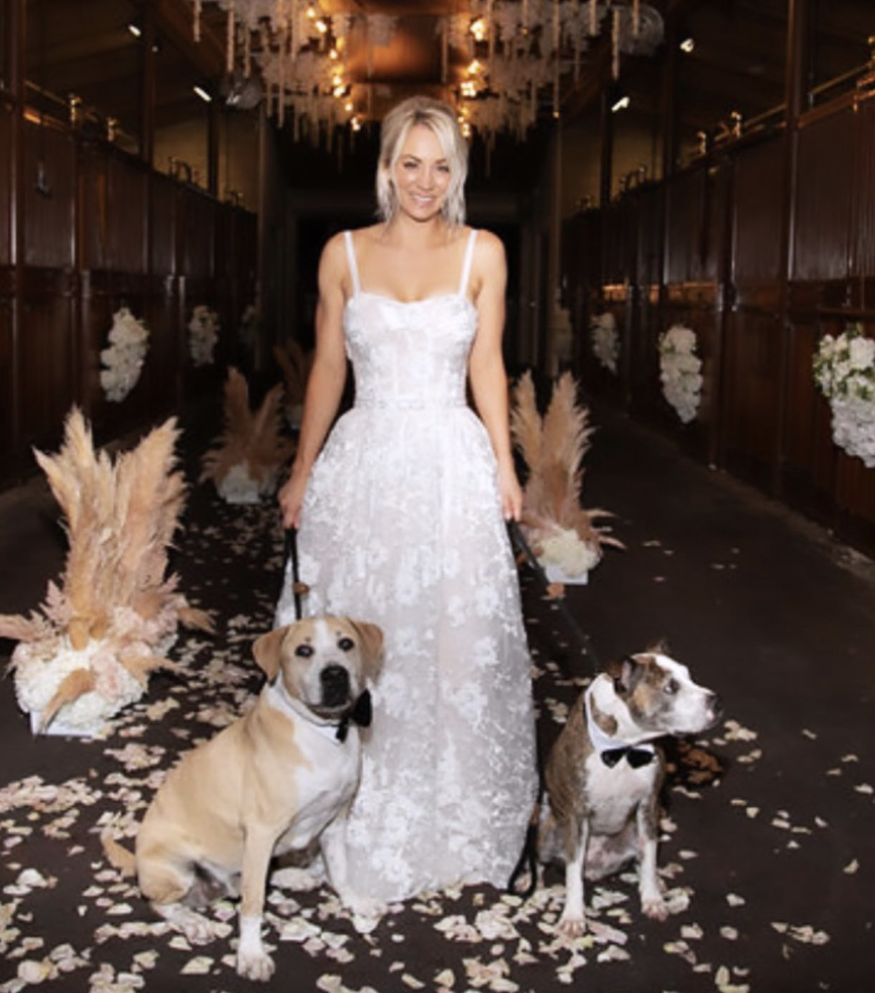 Kaley Cuoco mourns the death of dog Norman