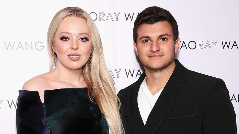 Tiffany Trump announces engagement a day before her father leaves office
