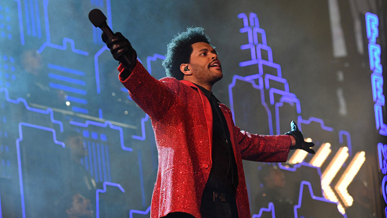 The Weeknd Brings Down The House In Super Bowl LV Halftime Performance