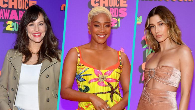 Kids' Choice Awards 2021: Jennifer Garner, Tiffany Haddish & More Orange Carpet Stars