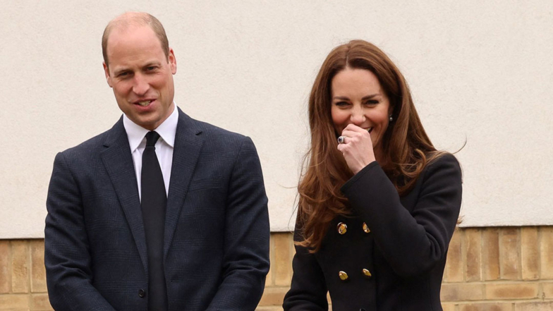 Kate Middleton and Prince William Share A Laugh Together At Royal Visit