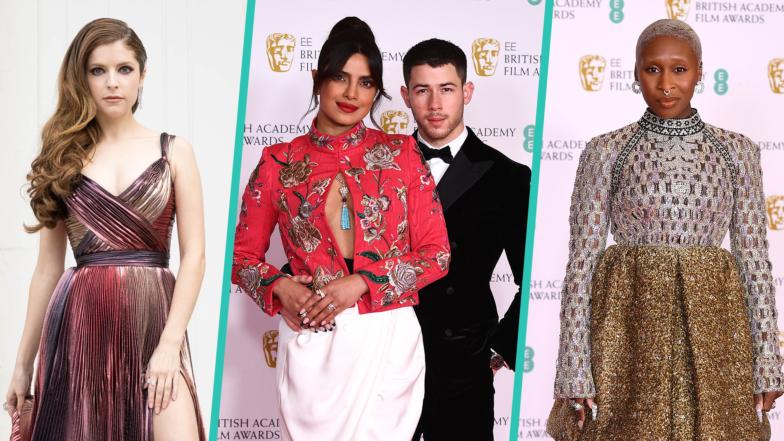 BAFTAs 2021: Priyanka Chopra & Nick Jonas, Anna Kendrick & More Top Style Stars