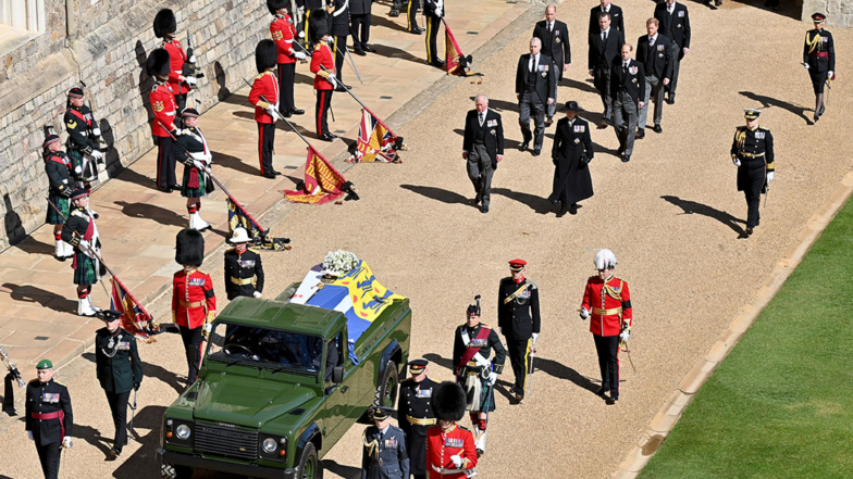 Prince Philip's Funeral In Photos