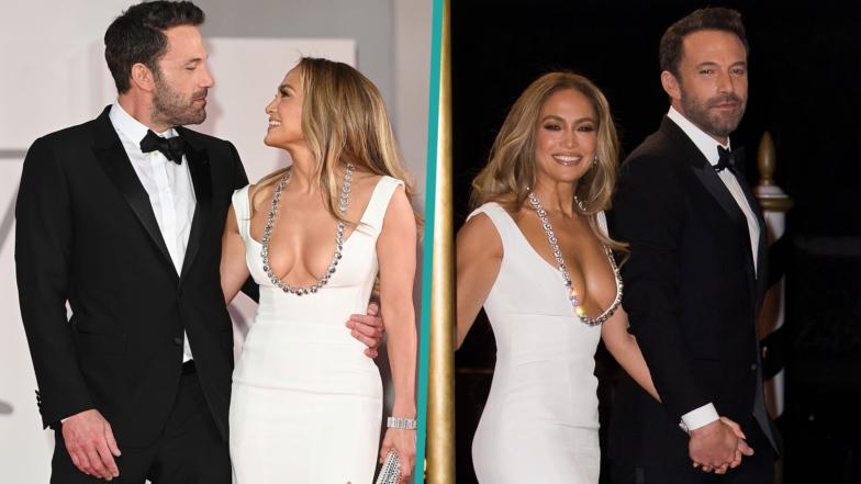 Jennifer Lopez & Ben Affleck Look So In Love Making Red Carpet Debut In Venice