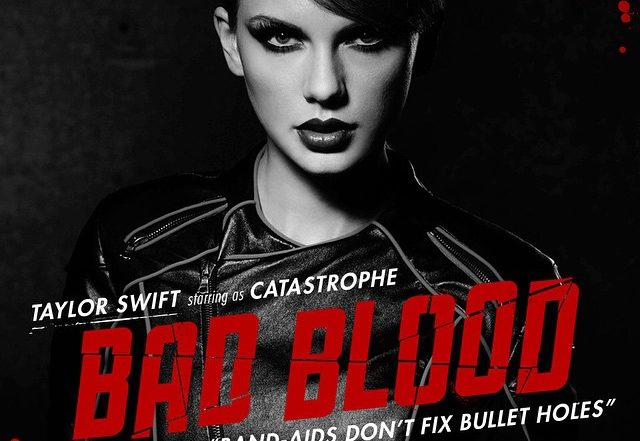 Taylor Swift's 'Bad Blood' Posters