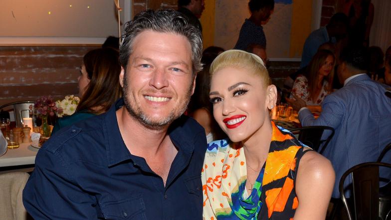 Blake Shelton & Gwen Stefani: Cute Couple Shots!